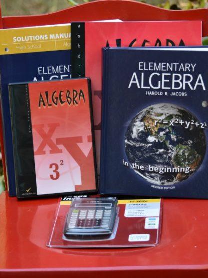 Homeschool High School Algebra 1 by Harold Jacobs