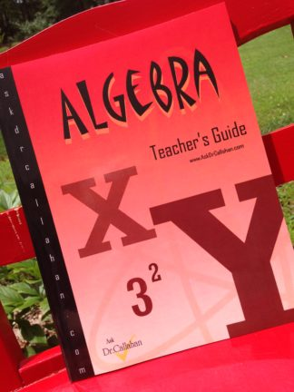 Homeschool algebra - Teacher's Guide for Harold Jacobs Elementary Algebra
