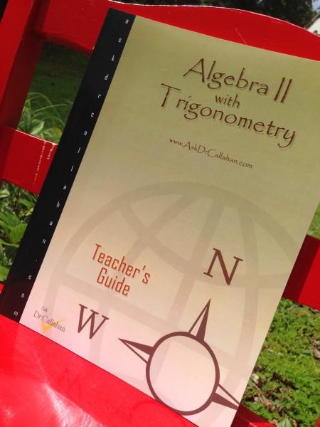 Homeschool Algebra 2 with Trig - high school math