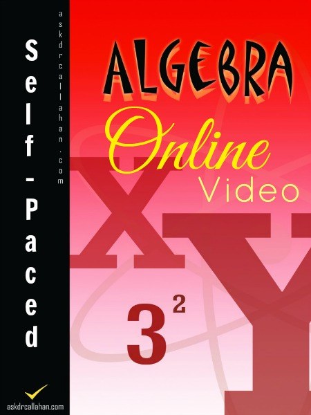 Algebra  Online Course  Askdrcallahan Algebra  Online Course