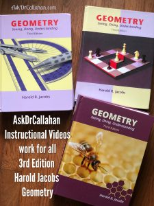 3rd Edition Jacobs Geometry